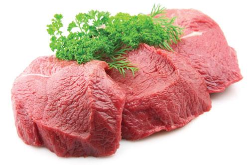Thịt bò thực phẩm vàng cho phụ nữ sau sinh