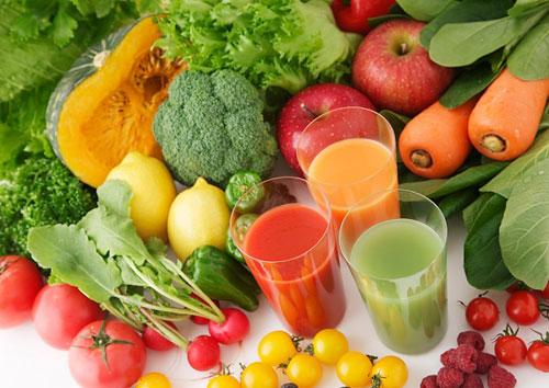 giảm béo bụng bằng thực phẩm chức năng và rau quả xanh