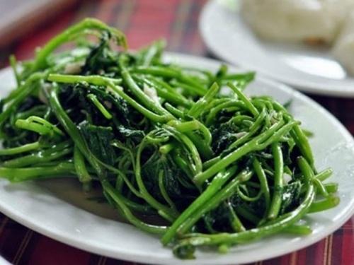 Rau khoai lang thực phẩm vàng dành cho phụ nữ sau sinh