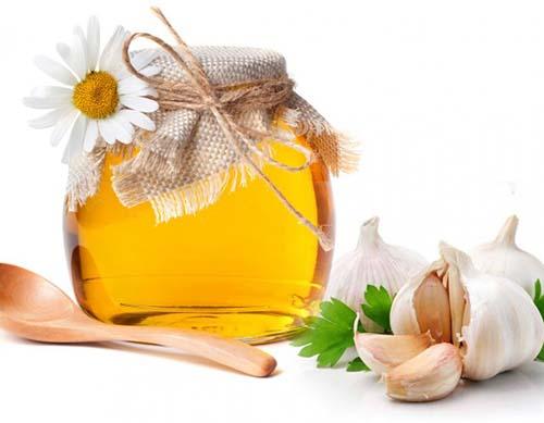 Chữa ho bằng mật ong hấp tỏi