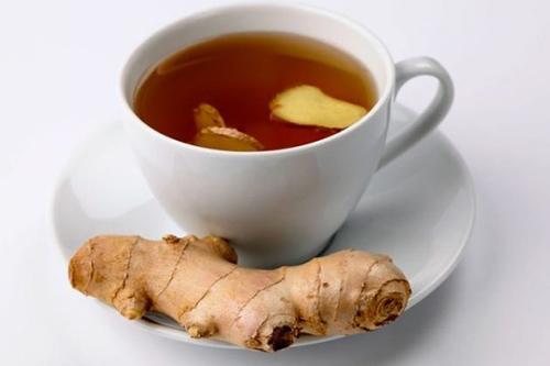 Trị tiêu chảy bằng trà gừng