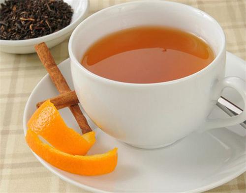 Sử dụng trà vỏ cam