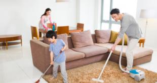 Dọn dẹp nhà cửa là cách giúp bạn đốt cháy