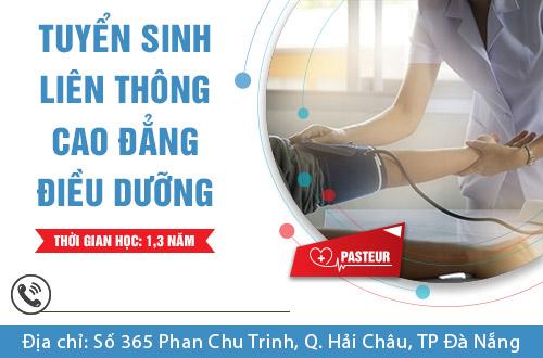 Đào tạo Liên thông Cao đẳng điều dưỡng tại Đà Nẵng