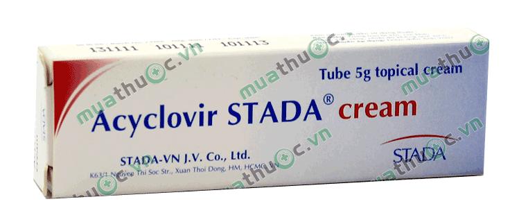 Đối tượng nào không được sử dụng Acyclovir