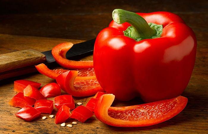 Ngăn ngừa suy thận bằng ớt chuông đỏ