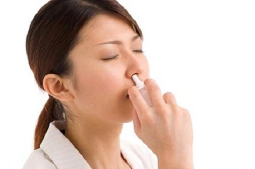 Sử dụng thuốc thông mũi để trị viêm xoang