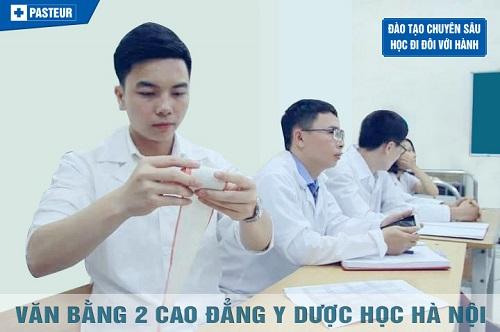 Tuyển sinh Văn bằng 2 Cao đẳng Y Dược học Hà Nội