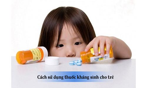 Cách sử dụng thuốc kháng sinh cho trẻ