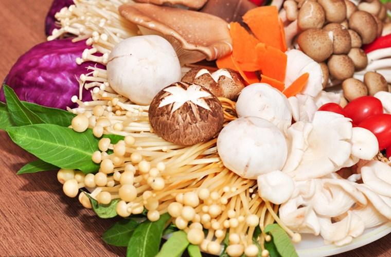 Bổ sung nấm cũng giúp giảm lượng mỡ trong máu đáng kể