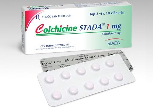 Colchicine - thuốc điều trị bệnh Gout