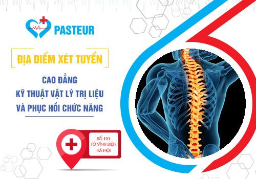 Trường Cao đẳng Y Dược Pasteur tuyển sinh Cao đẳng Kỹ thuật vật lý trị liệu năm 2018