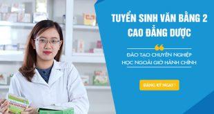 Đào tạo Dược sĩ vừa học vừa làm tại Hà Nội