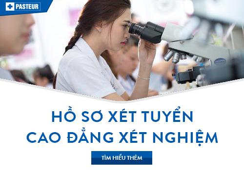 Hoàn thiện hồ sơ xét tuyển Cao đẳng Xét nghiệm Đà Nẵng năm 2018
