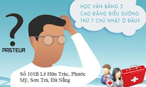 Địa chỉ học Văn bằng 2 Cao đẳng Điều dưỡng Đà Nẵng năm 2018 ở đâu?