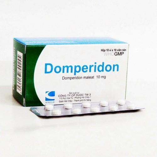 Dạng bào chế và hàm lượng thuốc Domperidon STADA®