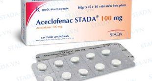 Dược sĩ tư vấn cách sử dụng hiệu quả thuốc Aceclofenac