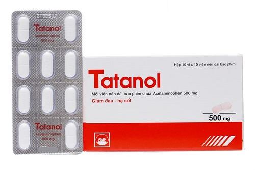 Cách sử dụng Tatanol đúng cách và hiệu quả