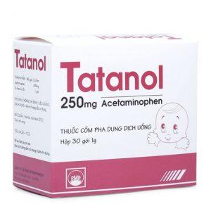 Hướng dẫn sử dụng thuốc giảm đau hạ sốt Tatanol hiệu qu