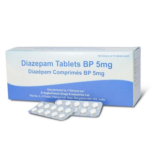 Liều lượng dùng thuốc diazepam thông thường