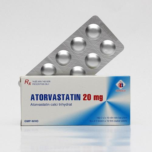Tác dụng phụ khi dùng thuốc atorvastatin