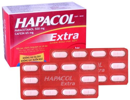 Tìm hiểu về thuốc giảm đau Hapacol