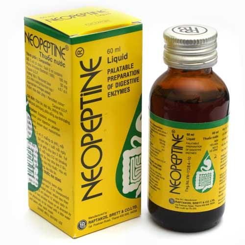 Cần lưu ý điều gì khi sử dụng men tiêu hóa Neopeptine?