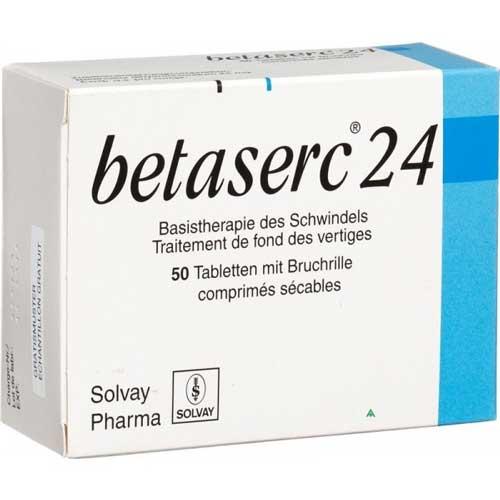 Làm sao để sử dụng thuốc Betaserc an toàn?