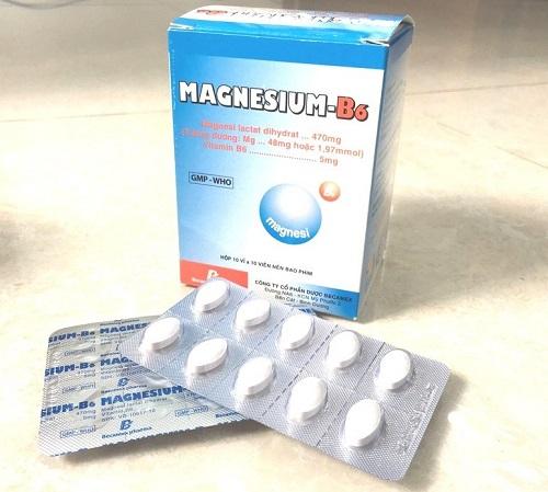 Liều lượng và cách dùng thuốc magie B6 hiệu quả