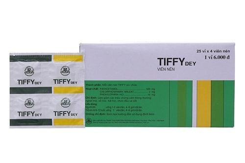 Tác dụng thuốc Tiffy® là gì?