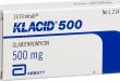 Thông tin cần thiết để sử dụng hiệu quả thuốc kháng sinh Klacid