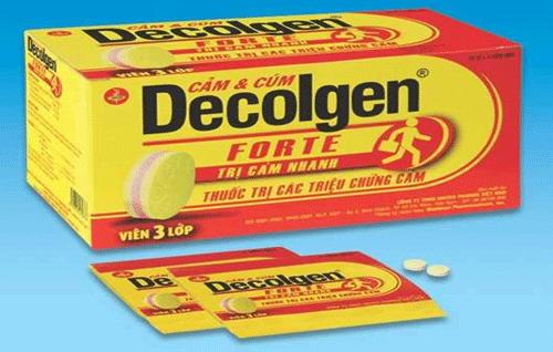 Tác dụng của thuốc Decolgen đối với cơ thể