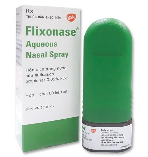 Liều lượng và cách sử dụng Flixonase như thế nào?
