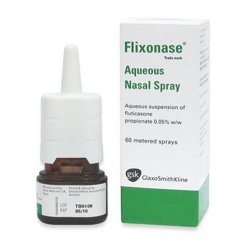 Tìm hiểu về thuốc xịt mũi Flixonase