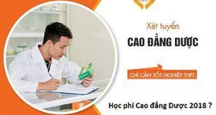 Học phí cao đẳng dược Hà Nội