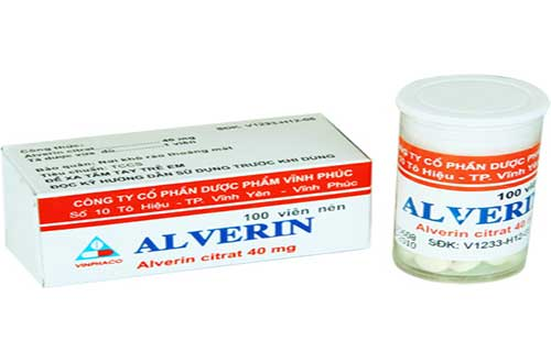 Liều dùng thuốc Alverin
