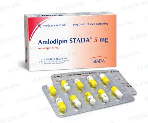 Tác dụng của amlodipine là gì?