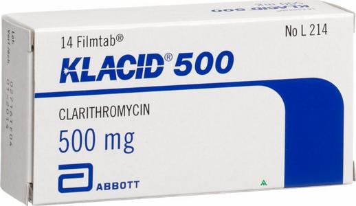 Thông tin về thuốc kháng sinhKlacid
