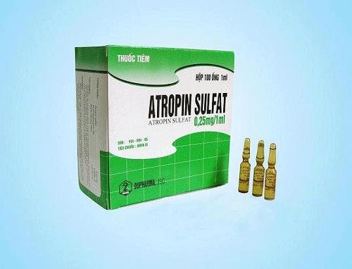 Tìm hiểu tác dụng của thuốc Atropine