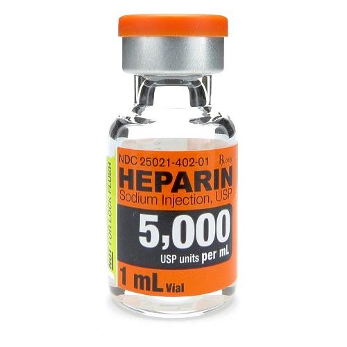 Tác dụng phụ có thể gặp khi dùng thuốc heparin