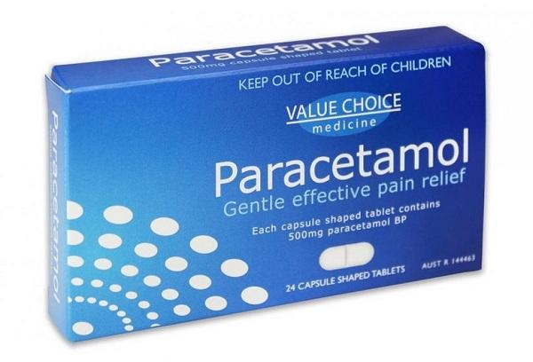 Nên dự trữ paracetamol cho người lớn và trẻ em để phòng khi dùng đến