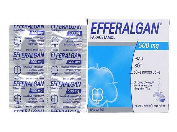 <center><em>Efferalgan 500: Liều dùng và chống chỉ định<em></center>