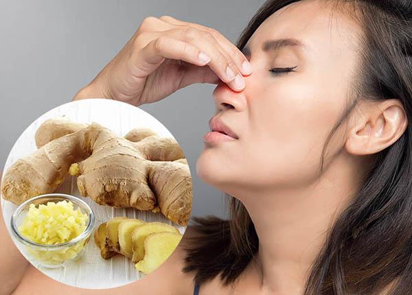 5 bài thuốc dân gian chữa viêm mũi dị ứng hiệu quả